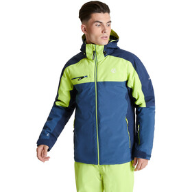Dare 2b Intermit II Veste Homme, dark denim/nightfall navy/lime punch